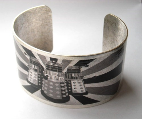 bracelet daleks cuff Jewelry doctor who