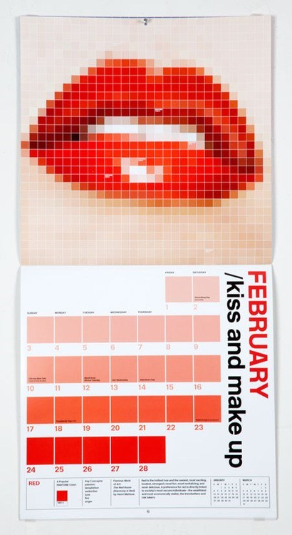 calendar colors pixels pantone - 6938462464