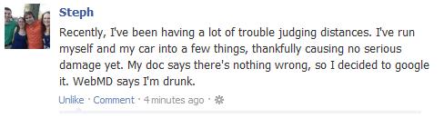 judging explained drunk distances web md google