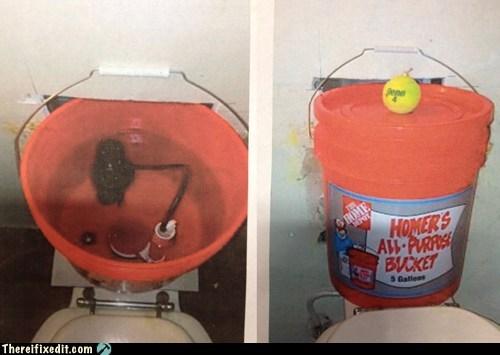 home depot homer toilet toilet - 6938605056