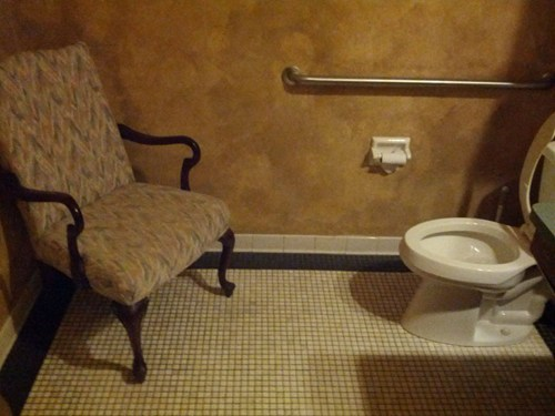 creepy Awkward bathroom toilet - 6938676992