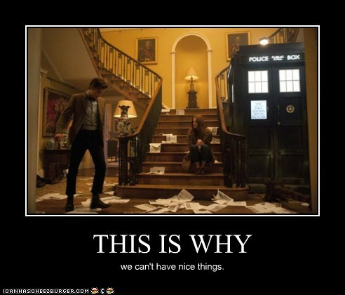 nice things karen gillan the doctor tardis Matt Smith amy pond mess cant - 6938884096