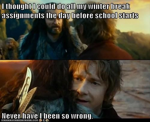 Sudden Change of Heart Thorin,winter break,truancy story