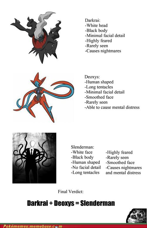 scary Pokémon slender man - 6938944256
