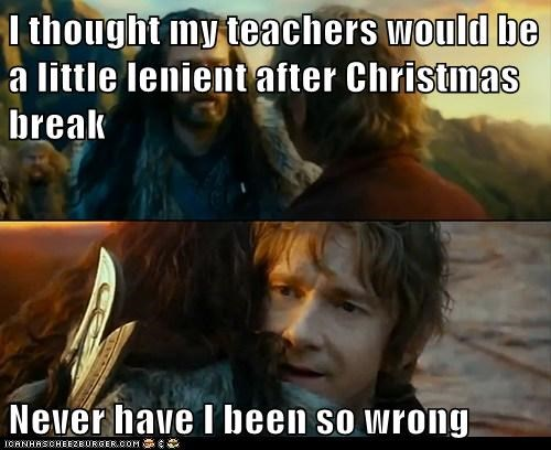 christmas,Sudden Change of Heart Thorin,truancy story