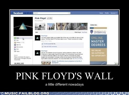 pink floyd,facebook,the wall