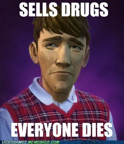bad luck brian Memes ben The Walking Dead - 6939657984