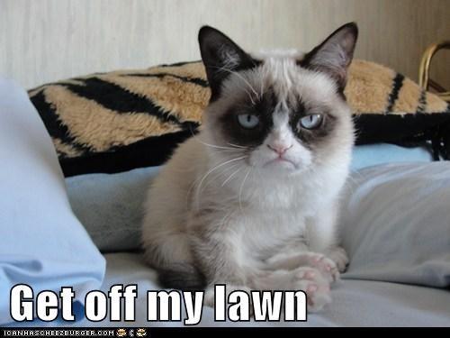 Get off my lawn