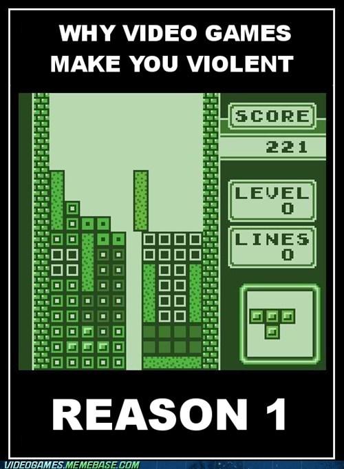 rage violence video games tetris