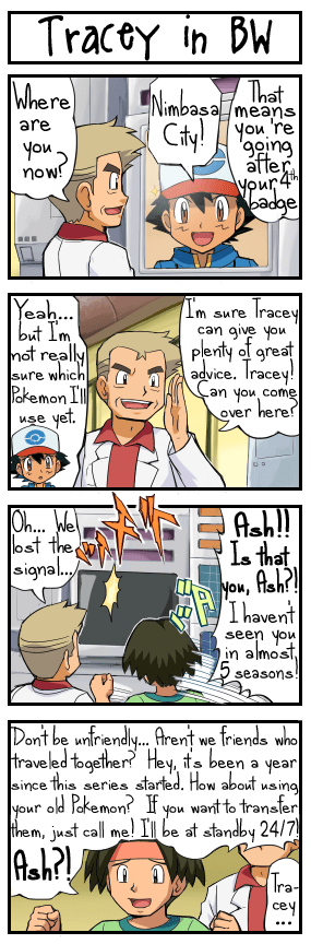 Pokémon,leave me alone,tracey,comic