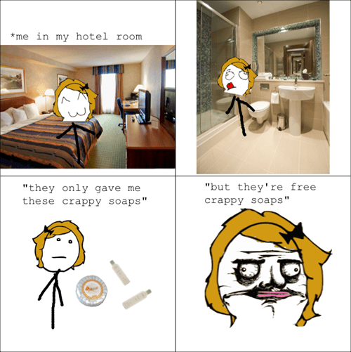 crappy soap hotel hotel room free stuff - 6940519680
