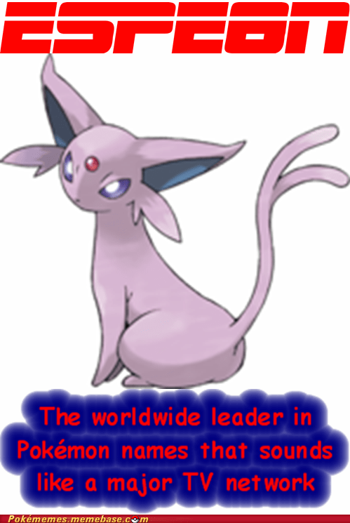 espn sports TV espeon eeveelution - 6940609536