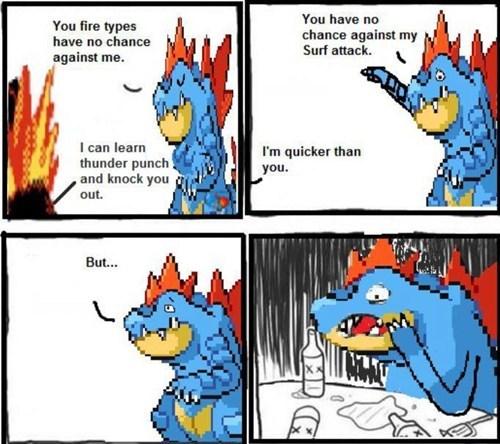 fire type speed feraligatr Memes - 6940647680