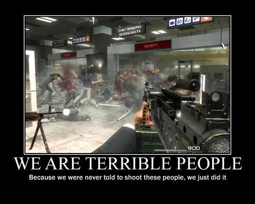 Sad call of duty no Russian think about it - 6940665856