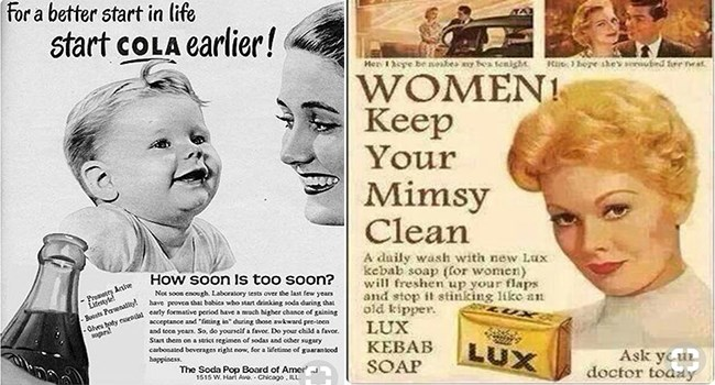 cringeworthy vintage ads empowering women or lack thereof