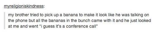 banana on the phone bananaphone conference call - 6940701696