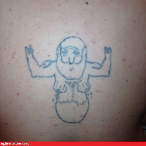 old man bewbs eggshell g rated Ugliest Tattoos - 6940709888