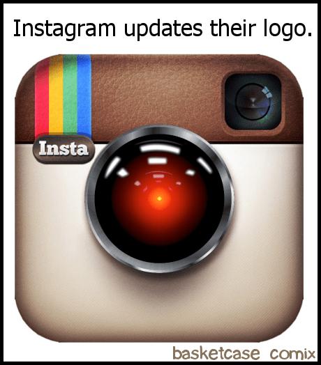 logo instagram comics HAL 9000 - 6940738304