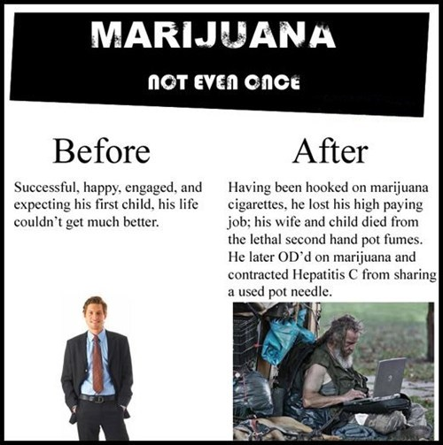 Not Even Once drugs marijuana homeless Before And After hooked - 6940750336