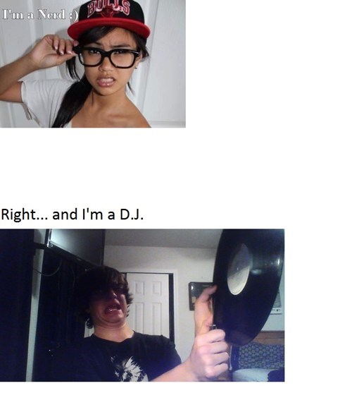 nerds hipsters posers djs