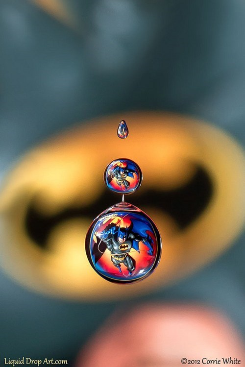 art liquid drop batman rain - 6940901376