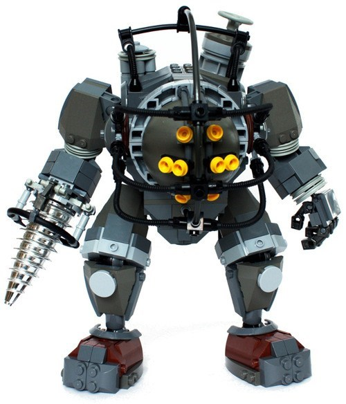 character lego video game big daddy bioshock - 6940918528