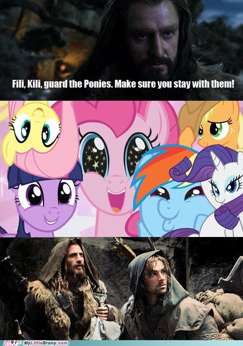 ponies guard The Hobbit - 6941191936