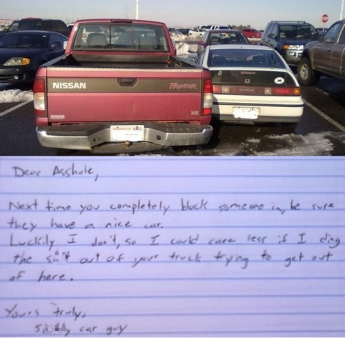douchebag parkers revenge cars driving parking - 6941291008