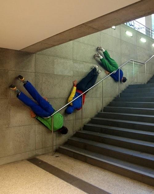 Planking stairs rails weird - 6941328896
