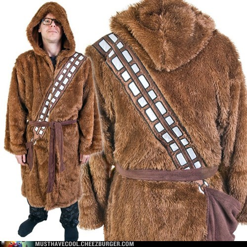 robe star wars chewbacca loungewear - 6941331456