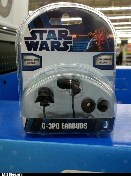 star wars nerdgasm wrong headphones - 6941532672