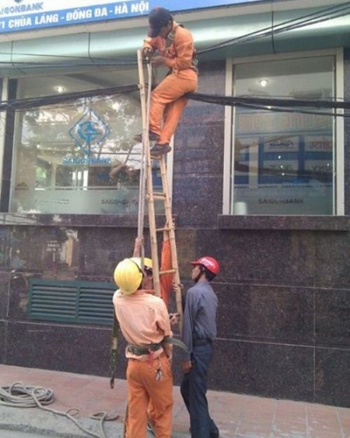 repairs,ladder,genius,safety