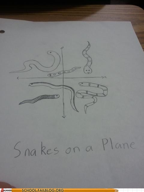 mathematics eel plane snake graph