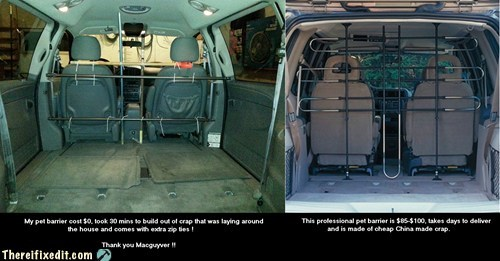 minivan car fix pet guard car fail pet barrier