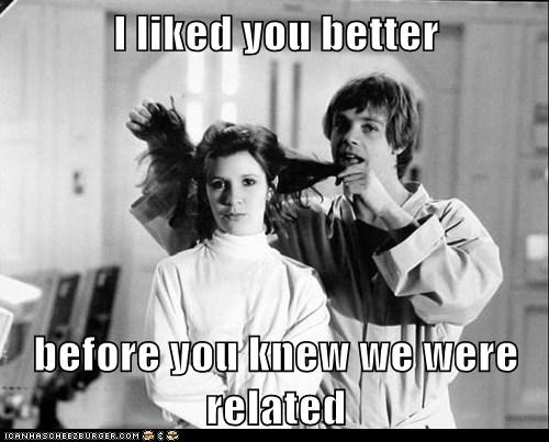 star wars,related,luke skywalker,carrie fisher,family,brother and sister,Princess Leia,Mark Hamill