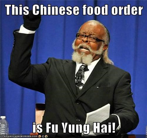 jimmy mcmillan,too damn high,puns,chinese food