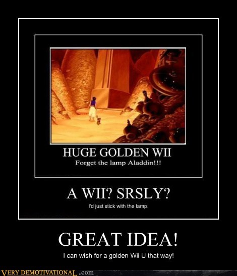 wii U,great idea,aladdin