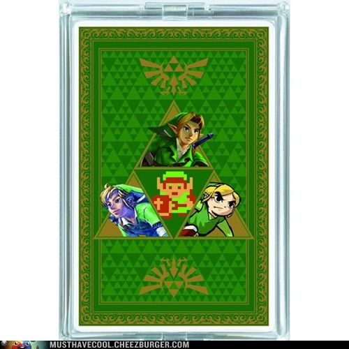 games link legend of zelda gambling cards characters playing cards - 6942609152