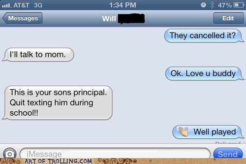 busted school principle texting sms - 6942629632
