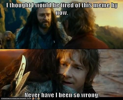 Sudden Change of Heart Thorin,tired,Memes