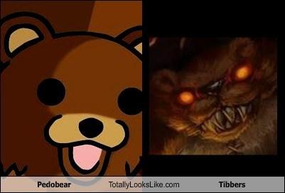 Pedobear Totally Looks Like Tibbers