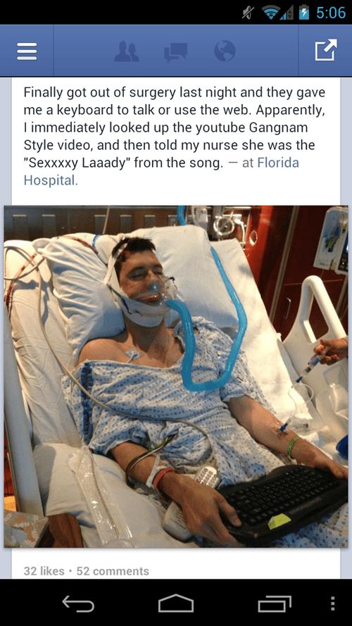 flirting hospital facebook gangnam style - 6943104256