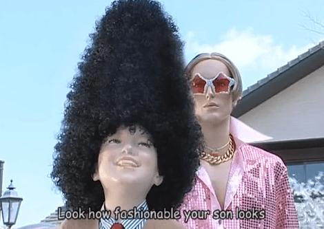 fashionable mannequin
