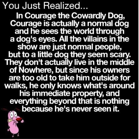 childhood cartoons courage the cowardly dog - 6943304960