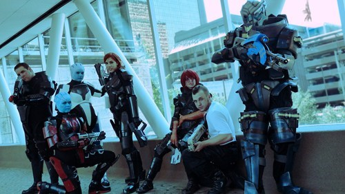 cosplay mass effect video games - 6943385600