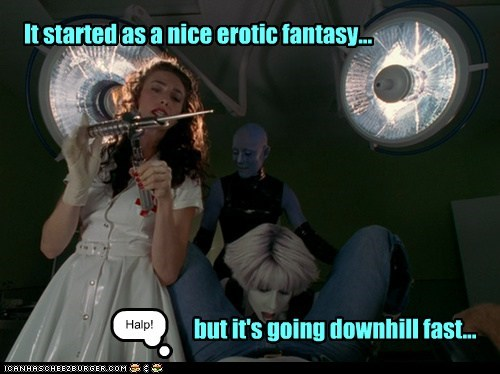 fantasy dream gigi edgley Virginia Hey farscape zotoh zhaan weird chiana - 6943458560