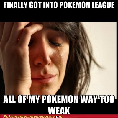 pokemon league,pokemon problems