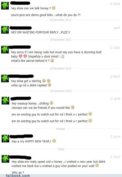 facebook chat flirting getting hit on dating