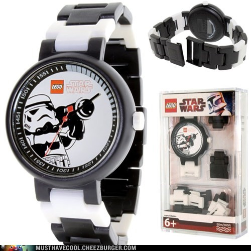 lego stormtrooper watch plastic - 6943576576