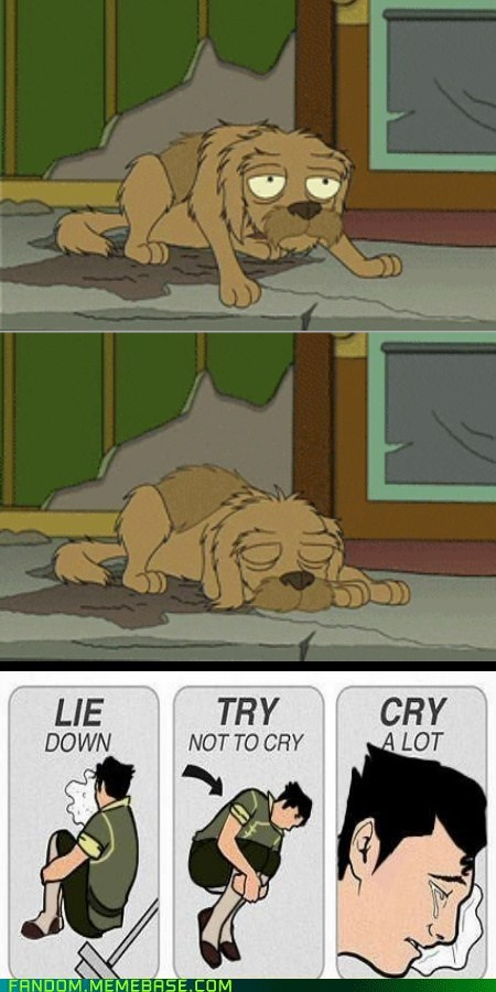 try not to cry cartoons futurama - 6943587840